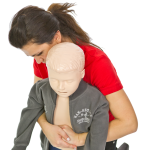 Helping a choking child
