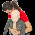 Helping a choking child